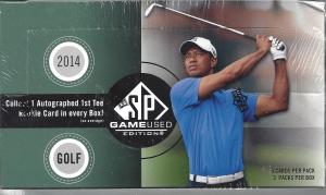 2014 sp game used golf