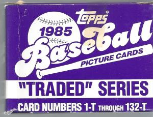 1985 topps traded set