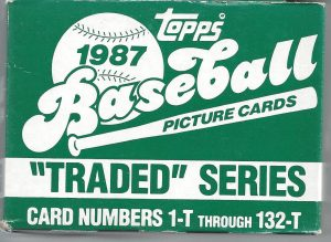 1987 topps traded set