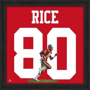 82cfb3737 Jerry Rice 49ers UniFrame Picture
