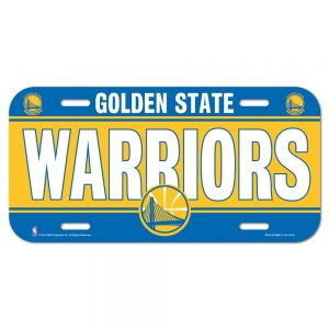 golden state license plate
