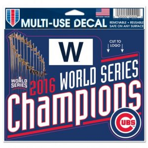 Cubs ws Decal