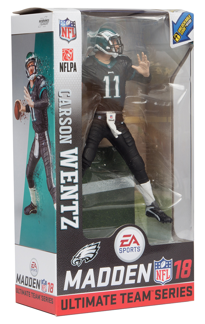 4395ccbc49c Carson Wentz (Philadelphia Eagles) EA Sports Madden NFL 18 Ultimate ...