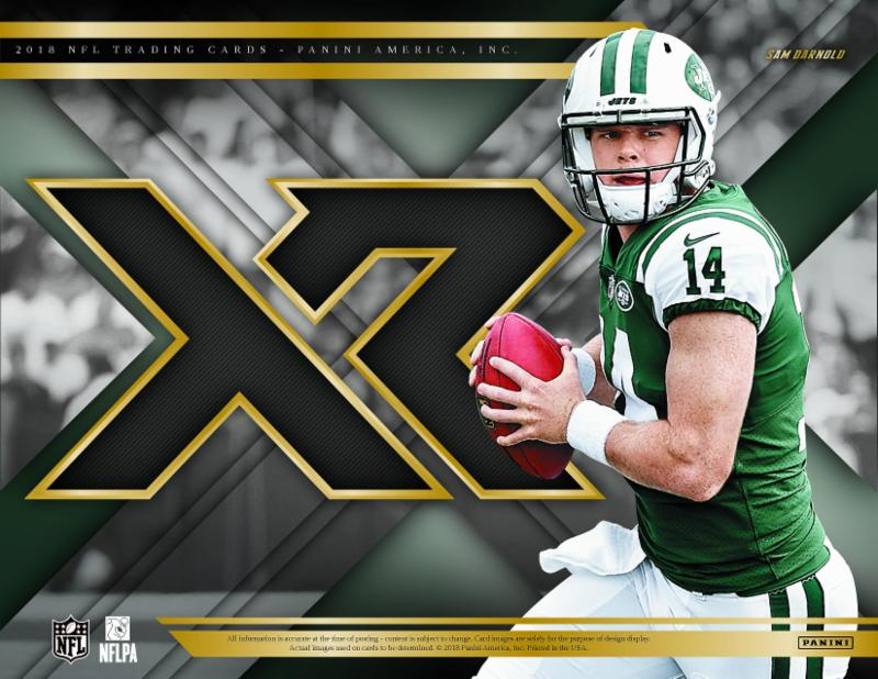 2018 Panini Xr Nfl Football Cards
