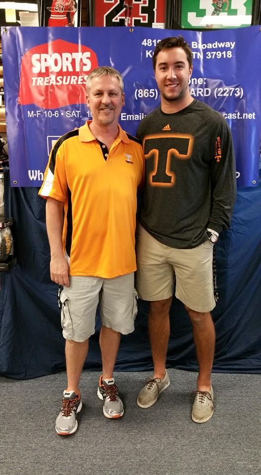 Justin Worley, Former Vol Quarterback, (June 5, 2015).