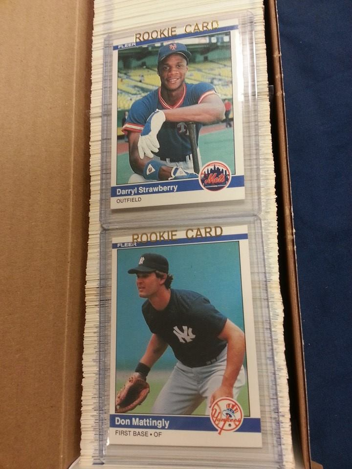 1984 Fleer Baseball Set Eddie S Sports Treasures