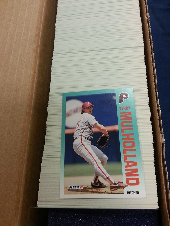 1992 Fleer Baseball Complete Set