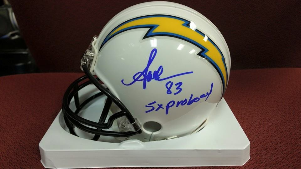 Chargers Mini Helmet Anthony Miller Mini Chargers