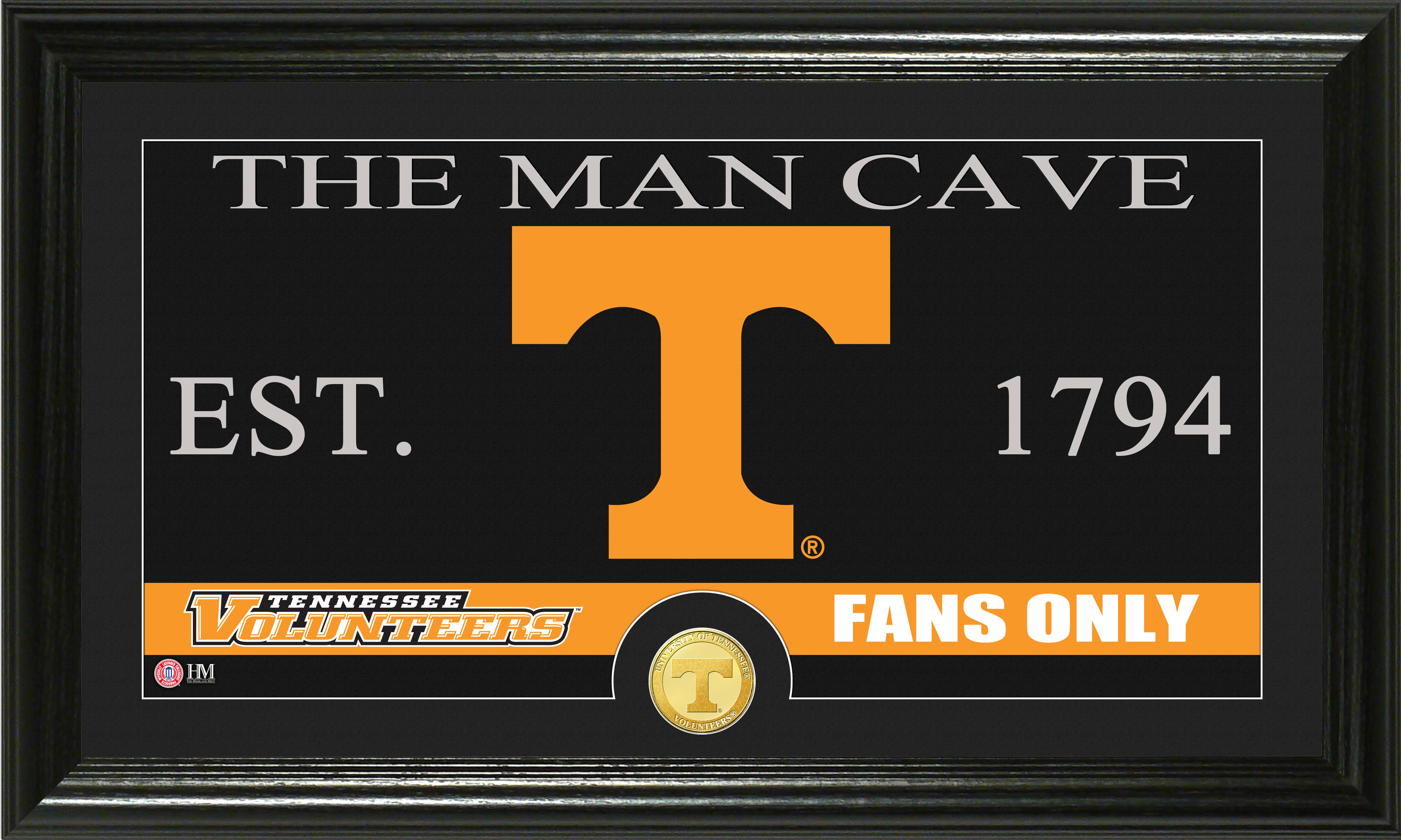Man Cave Knoxville : Tennessee vols man cave panoramic photo mint eddie s